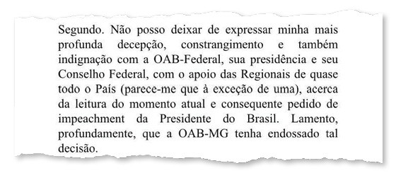 Bispo auxiliar de Belo Horizonte critica pedido de impeachment da presidente Dilma (Foto: Reprodução)