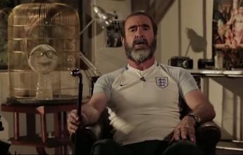 """Eric Cantona """"se anuncia"""" técnico da Inglaterra e promete vencer """"ilhota"""""""