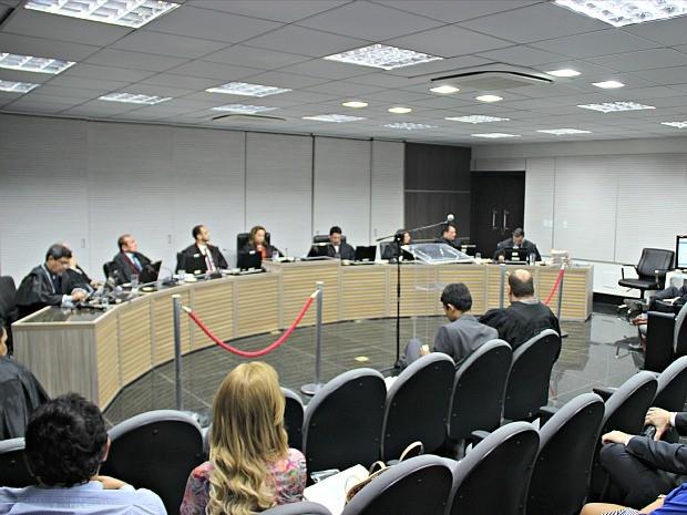 Julgamento ocorreu nesta quarta-feira (16), em Manaus  (Foto: Indiara Bessa/ G1 AM)