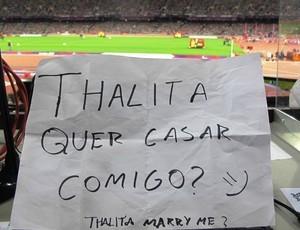 Pedido Casamento Yohansson (Foto: Divulgação)