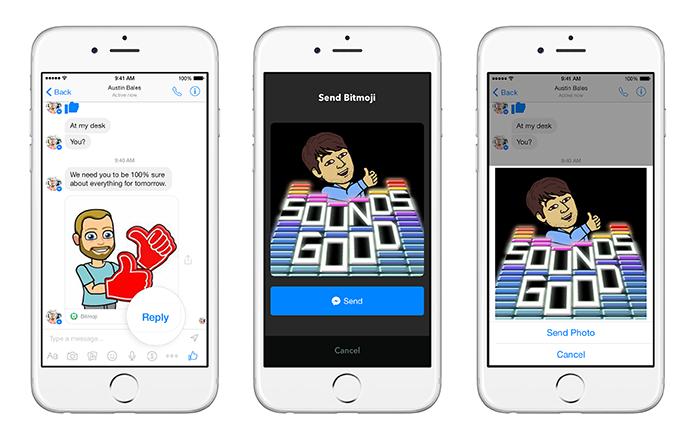 Messenger pode integrar outros apps como extensões do chat (Foto: Divulgação)