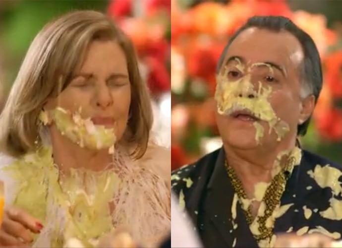 Cena - Guerra dos Sexos - montagem (Foto: Divulgação/TV Globo)
