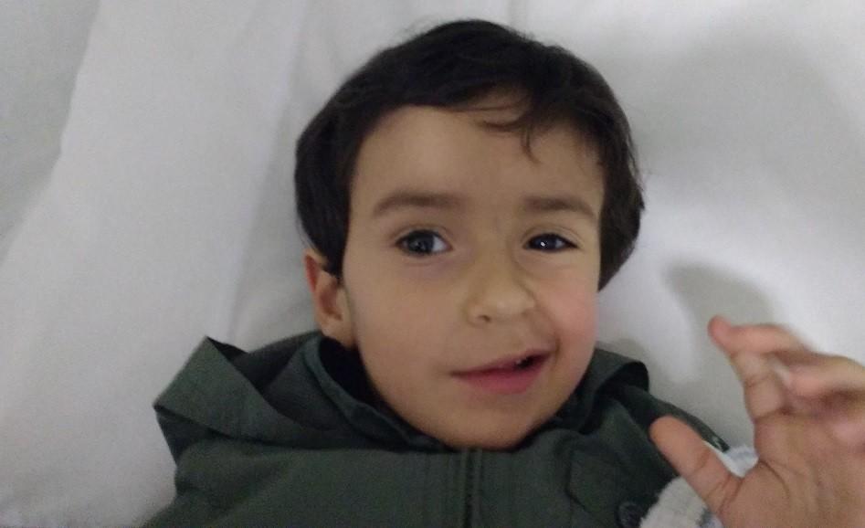 Vitor, filho da Paola Lobo (Foto: Crédito pessoal)