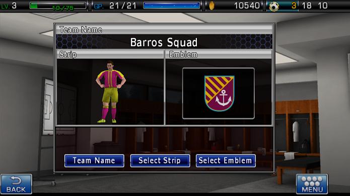 Crie um time com camisa e escudo (Foto: Thiago Barros/Reprodução)