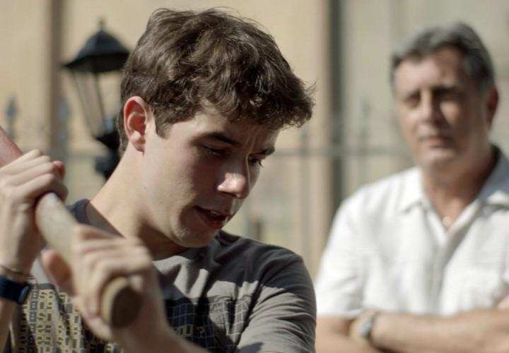 Isso mesmo Jorge, não dá mole para o Luan! (Foto: TV Globo)