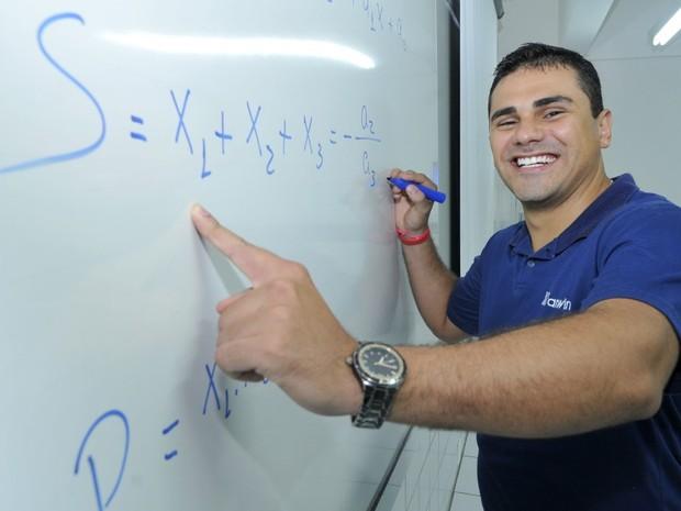 O mineiro Daniel Rojas Nascimento ficou em primeiro lugar na Ufes (Foto: Carlos Alberto Silva / A Gazeta)