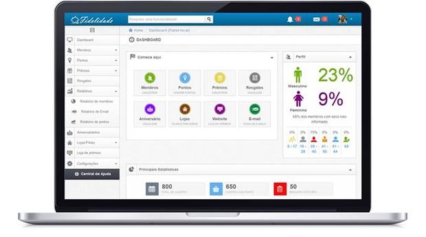 A plataforma desenvolvida pela Donuz inclui soluções de fidelização e marketing (Foto: Reprodução )