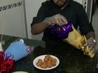 Irmãos inovam na venda de salgados e produzem buquês de coxinha em PE