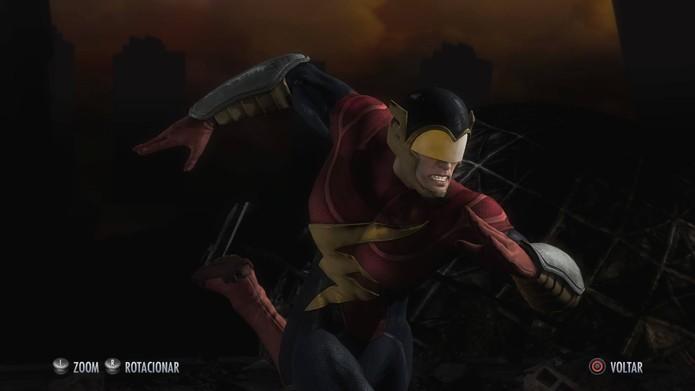 Flash da Terra 2 em Injustice (Foto: Reprodução/Felipe Vinha)
