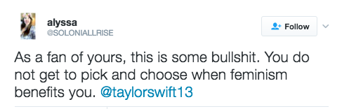 Fãs criticam ausência de Taylor Swift na Women's March (Foto: Reprodução)