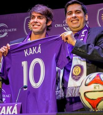 Kaká orlando city apresentação (Foto: Reprodução/Facebook)