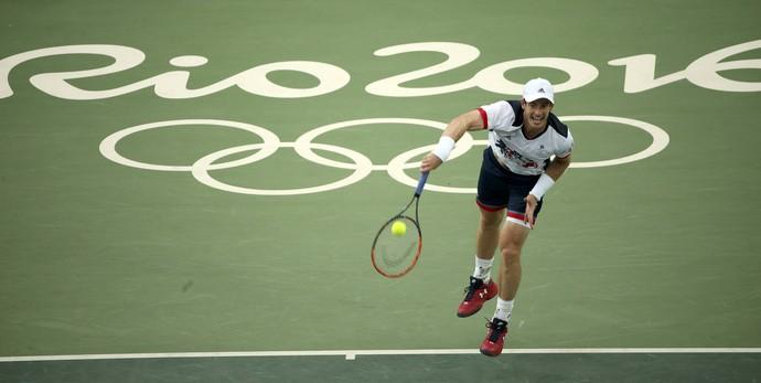 Andy Murray estreia tênis Olimpíada Rio de Janeiro (Foto: REUTERS/Kevin Lamarque)