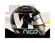 Capacete Formula 1 2016 - Rosberg