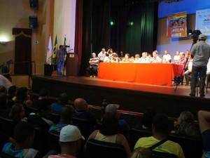 Audiência pública em São João del Rei (Foto: Câmara Municipal/Divulgação)
