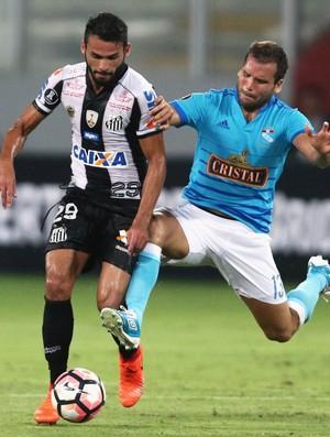 Thiago Maia e Revoredo, Sporting Cristal x Santos