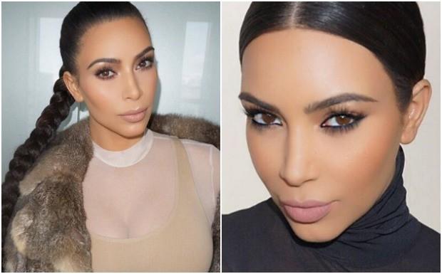 Contorno Kim Kardashian (Foto: Reproduo / Instagram)