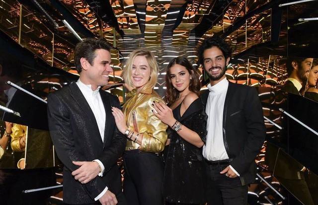 Beto Pacheco, Fiorella Mattheis, Bruna Marquezine e André Nicolau (Foto: reprodução/Instagram)
