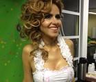 Leona Cavalli vai filmar para documentário (Paulo Piza/G1)