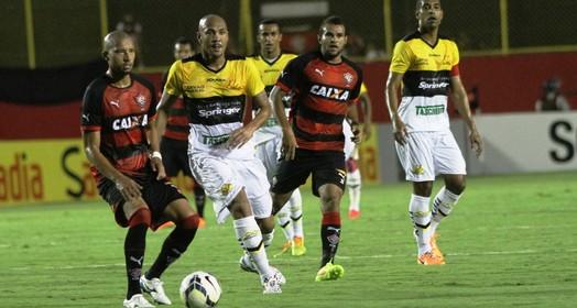 no ar (Fernando Ribeiro/criciumaec.com.br)
