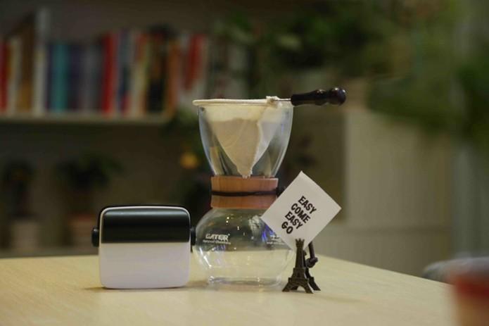 Impressora portátil pode se comunicar com smartphones através de Bluetooth (Foto: Reprodução/Kickstarter)