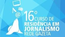 Capa - Logo Curso de Residência Rede Gazeta (Foto: Divulgação)