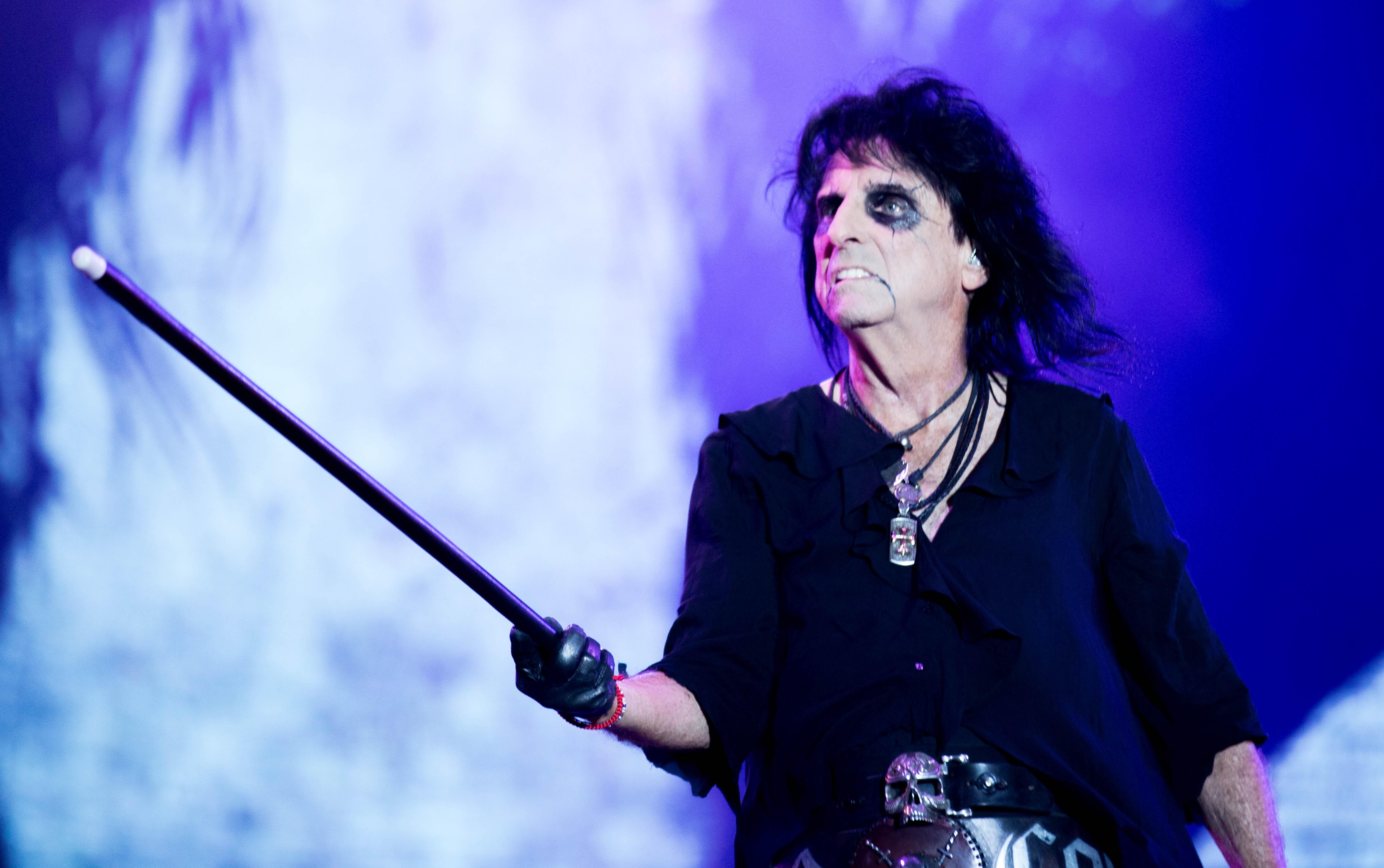 'Super Duper Alice Cooper' conta a histria do astro do rock (Foto: Samuel Kobayashi)