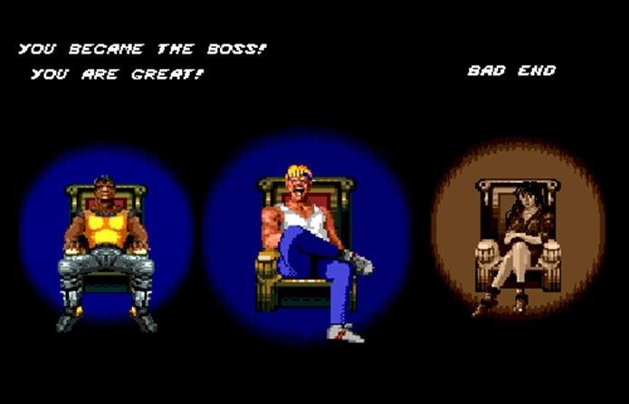 Street of Rage é um dos primeiros jogos onde você pode virar o vilão no final (Foto: Reprodução / Giantbomb)