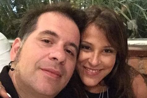 Leandro Hassum e a mulher, Karina (Foto: Reprodução)