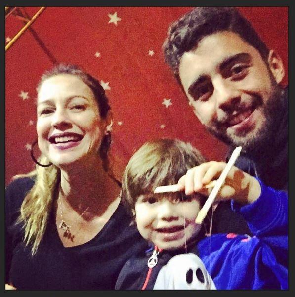 Luana Piovani, Dom e Pedro Scooby (Foto: Reprodução/Instagram)