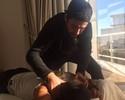Fisioterapeuta revela luta invisível de Mineirinho para tratar lesão na coluna