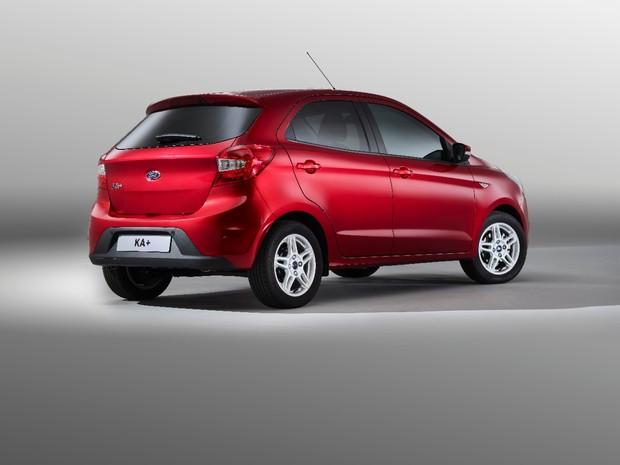 Ford Ka+ que será vendido na Europa (Foto: Divulgação)