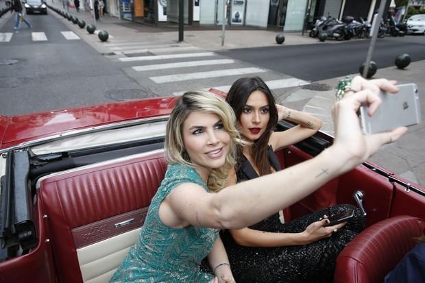 Julia Faria e Thaila Ayala (Foto: Felipe Panfilli/AgNews)