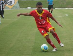 ABC x Globo FC - Renatinho Potiguar - Michel (Foto: Canindé Pereira/Divulgação)