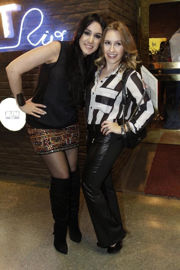 Marina Elali e Carla Dias (Foto: Marcos Ferreira / Brazil news)