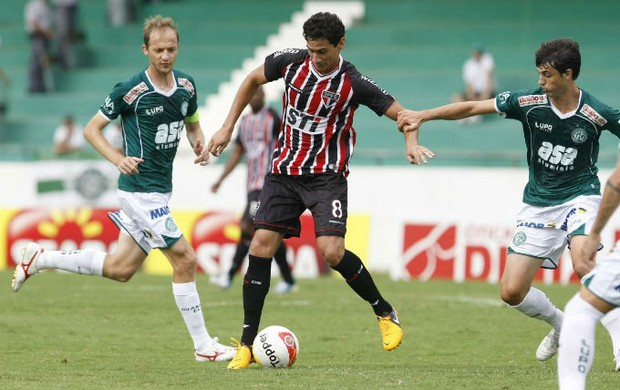 Paulo Henrique Ganso contra o Guarani (Foto: Rubens Chiri / saopaulofc.net)