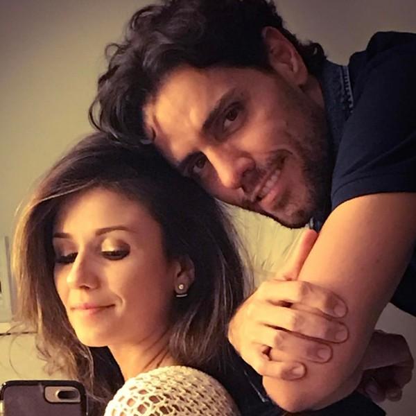 Paula Fernandes e o namorado. (Foto: Reprodução / Instagram)