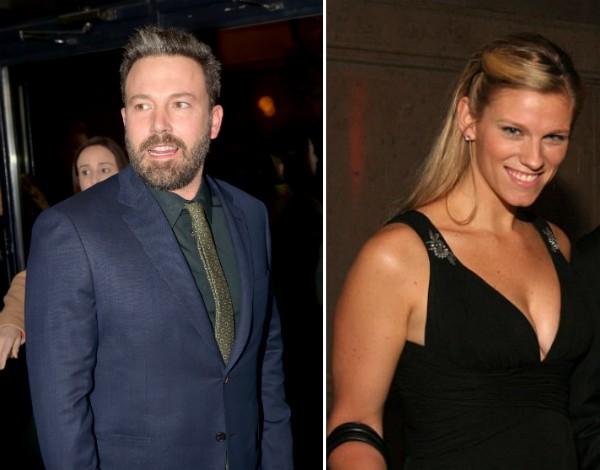 O ator Ben Affleck e sua nova namorada, a produtora Lindsay Shookus (Foto: Getty Images/Divulgação)