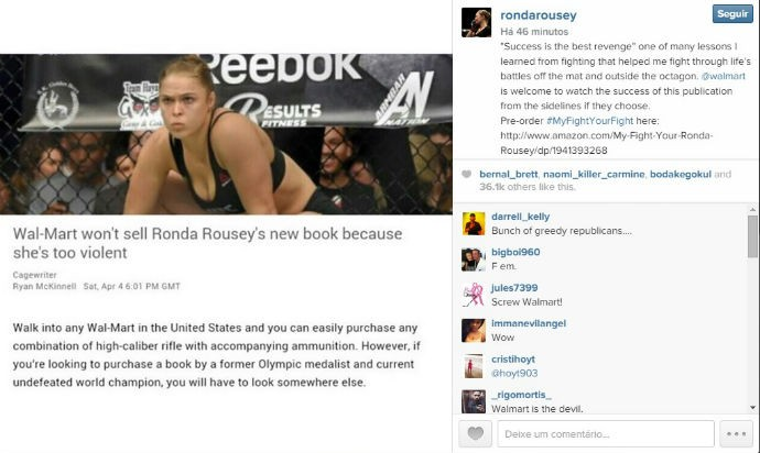 Ronda Rousey print