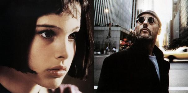 Natalie Portman vive Mathilda, a protagonista de 'O Profissional' (1994), que é treinada por Jean Reno (Foto: Divulgação/Reprodução)
