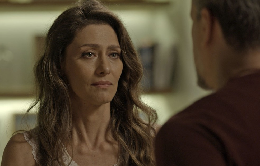 A socialite afirma que vai apoiar a vida que o marido escolheu e reforça seu desejo (Foto: TV Globo)