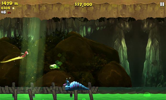 Firefly Runner é um game de aventura para Windows Phone 8 que acaba de ficar gratuito (Foto: Divulgação/Windows Phone Store)