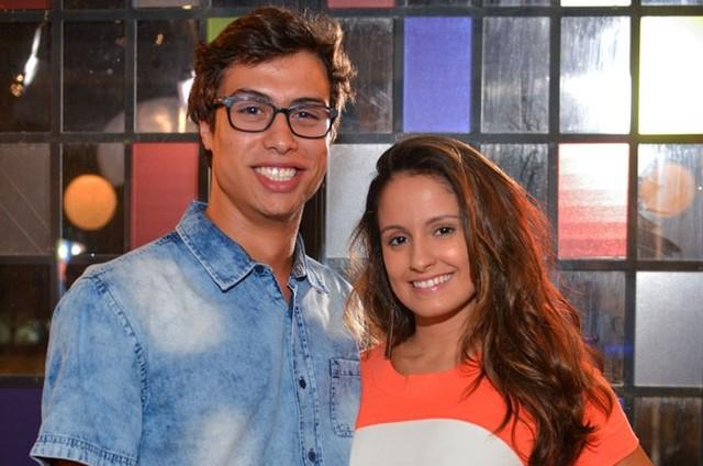 Francisco Vitti e Amanda de Godoi (Foto: Pedro Carrilho/Gshow)