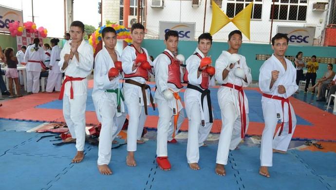 V Copa de karate sesc (Foto: Facebook/Divulgação)