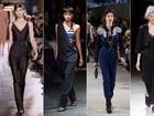 Barriguinha de fora, babados, azul marinho... Veja as principais tendências da Semana de Moda de Paris