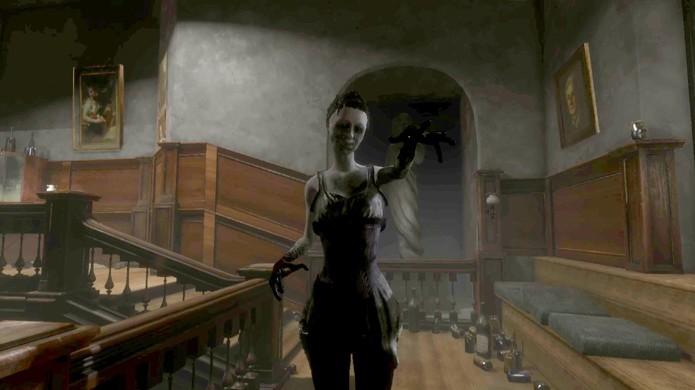 Além de Silent Hill o game de terror Eleanors Stairway se inspira também nos Beatles (Foto: Reprodução/YouTube)