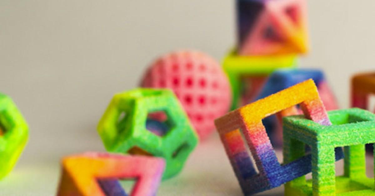 Impressora 3D faz objetos de açúcar, de chocolate e de outros doces
