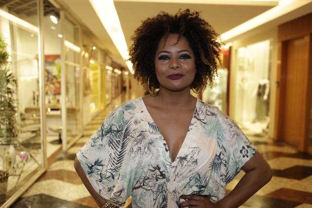 Adriana Bombom (Foto: Isac Luz / EGO)