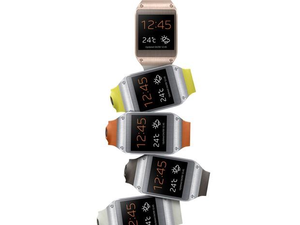 Galaxy Gear [e o smartwatch da Samsung (Foto: Divulgação/Samsung)