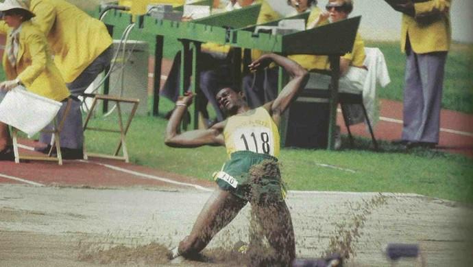 João do Pulo conquistou a medalha de bronze, em 1976, em Montreal no Canadá (Foto: Divulgação)