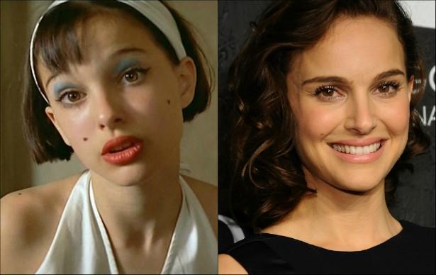 No filme francês 'O Profissional' (1994), Natalie Portman tinha entre 12 e 13 anos de idade. Agora tem 33 e, além de atriz, dá os primeiros passos como diretora. (Foto: Reprodução e Getty Images)